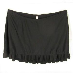 Catherines Plus Size 2X Tennis Skirt Swim Bottom